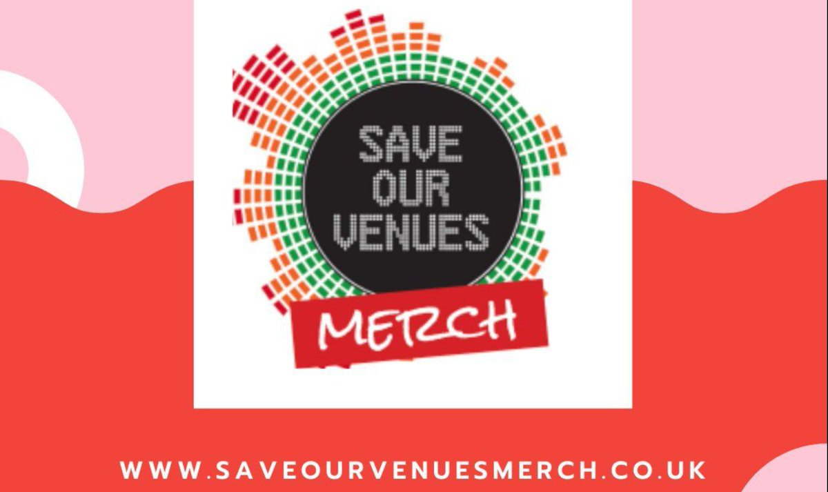 The #saveourvenues merch website features merchandise, music, pay to view videos and much, much more. All items listed come from our Grassroots Music Venues. Why not take a look? 👉https://t.co/Nvo6Im7aQv https://t.co/rPSqixdQ70