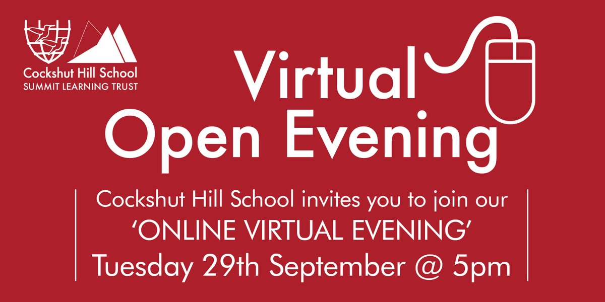 .@CockshutHillSch Coming soon... Our Virtual Open Evening 2020! #NothingButTheBest https://t.co/TT6TczLY2T https://t.co/0T2Miwdlad