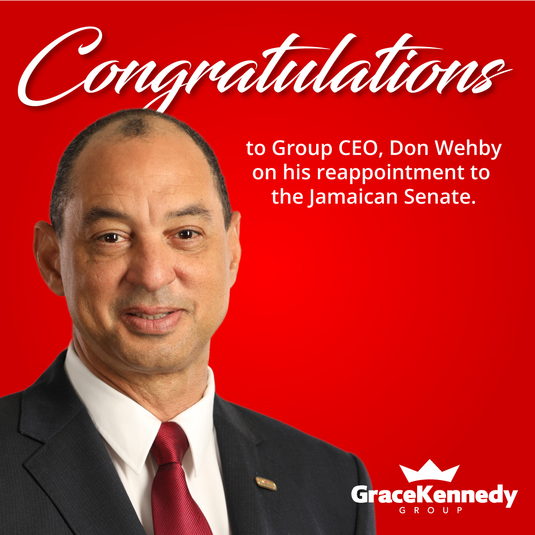 Congratulations to our Group CEO,  @dgwehby, on his reappointment to the Senate. His continued dedication to nation-building is a testament to his passion about Jamaica's future and we celebrate his renewed commitment to national service at this critical time in our history. https://t.co/TorTMfjscP