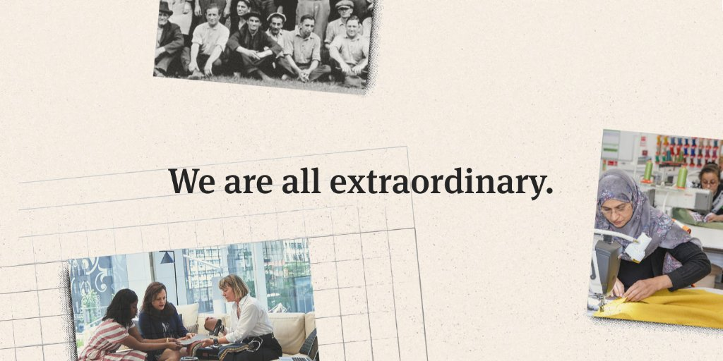 """At Herman Miller Group, when we say """"We are all extraordinary,"""" we're making a statement about the worth of individuals and our commitment to help everyone reach their full potential. It's one of our three Group Values; watch this space for the others. https://t.co/eMVtwAvfdl"""