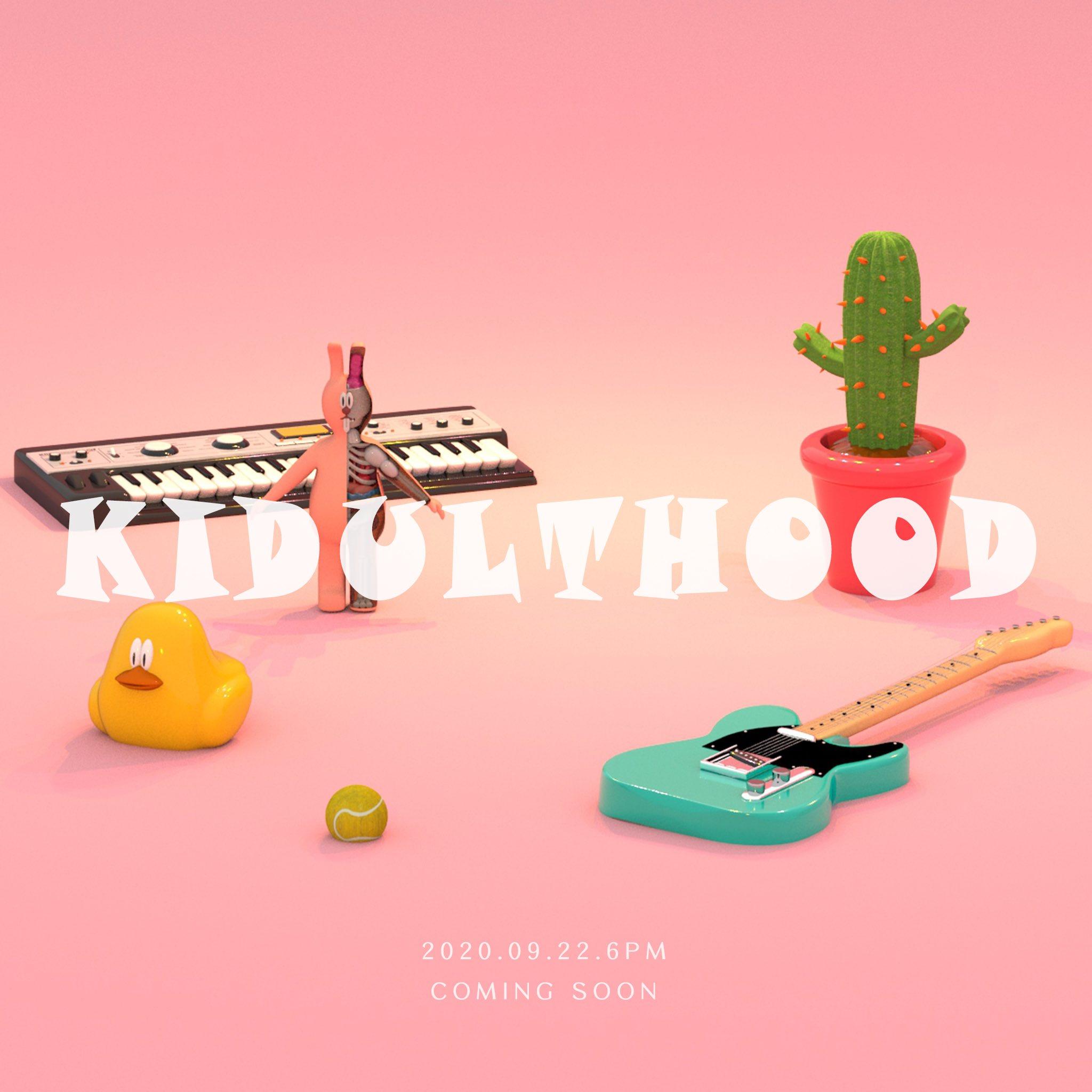 22일(화), Xydo(시도) 더블 싱글 앨범 'KIDULTHOOD' 발매 | 인스티즈