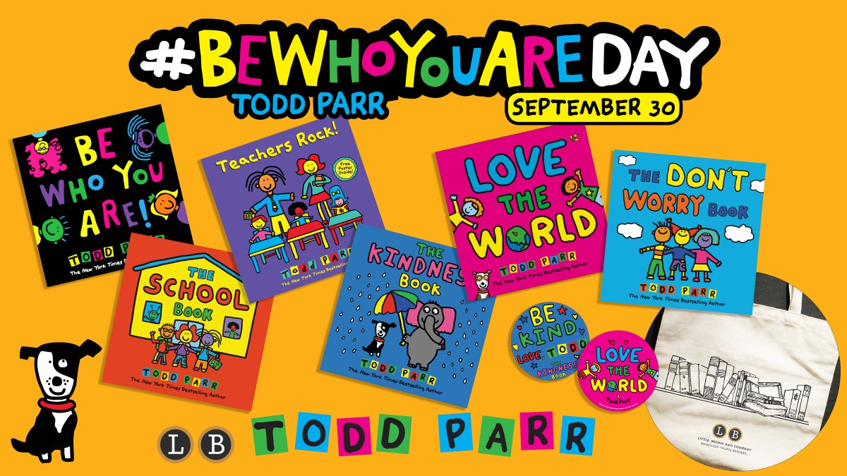 The countdown continues! We're just 2 weeks away from @toddparr's #BeWhoYouAreDay! Have you entered our sweepstakes yet?!   --> https://t.co/XWCcjUbNpC https://t.co/8eELgmmkbj