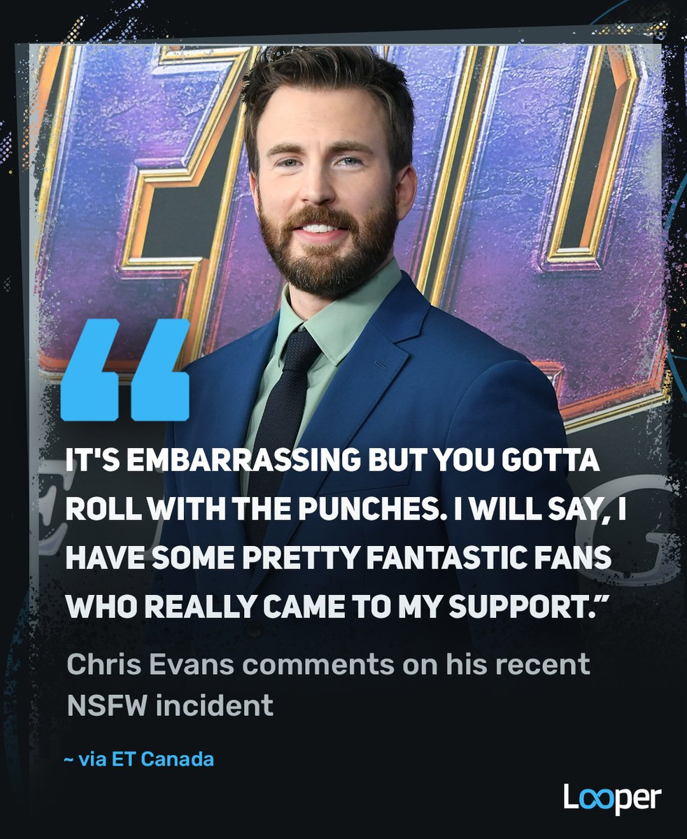 Chris Evans finally responds to his accidental NSFW social media post. #ChrisEvans https://t.co/O1XNOzObmD