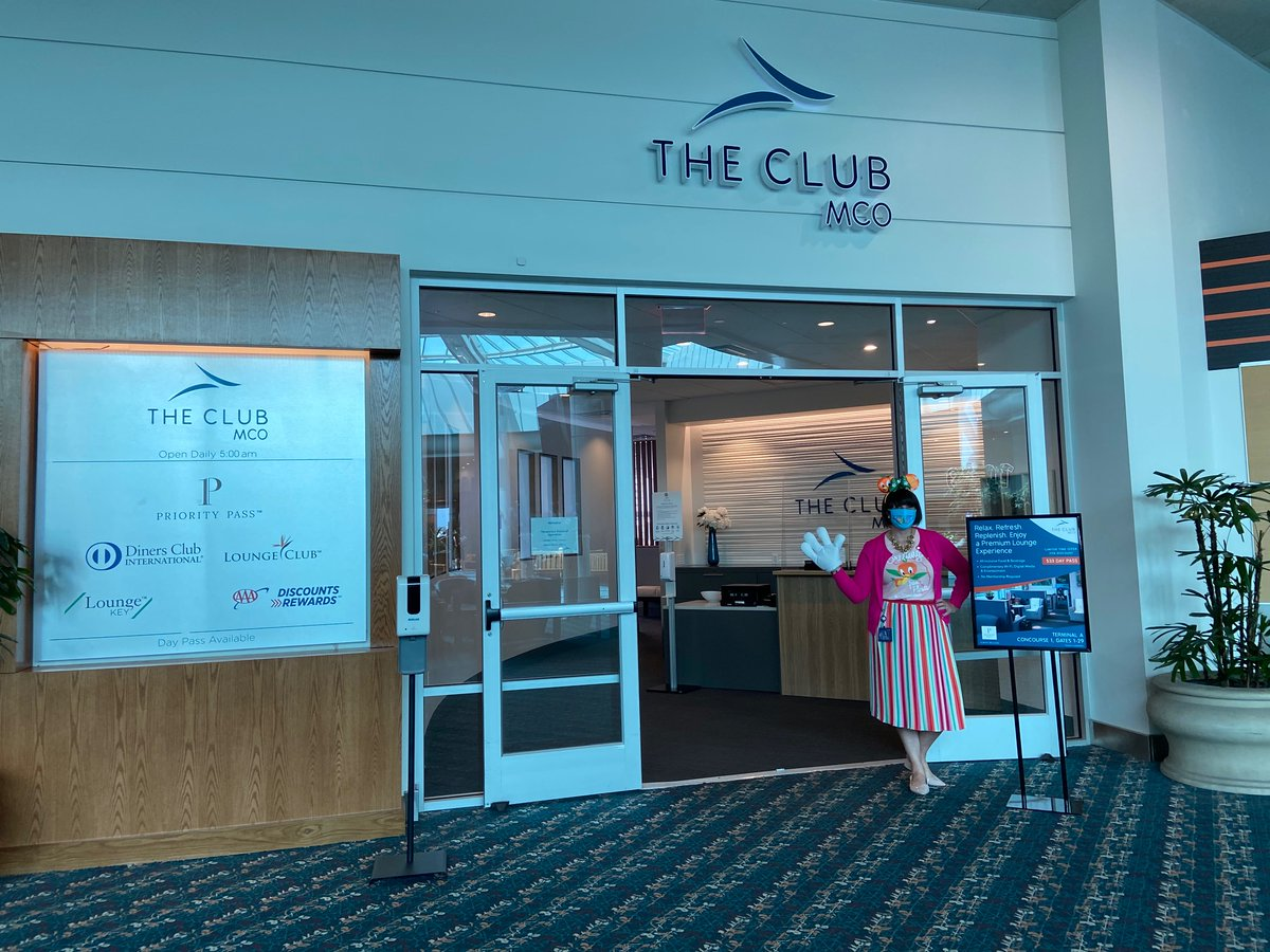 Happy #HumpDay, travelers! Our friends at The Club #MCO are sending you good vibes to get through this week. If you're traveling through @MCO make sure to visit The Club located in Airside 1 and receive 25% off your Day Pass purchase. https://t.co/8pALQYECyx