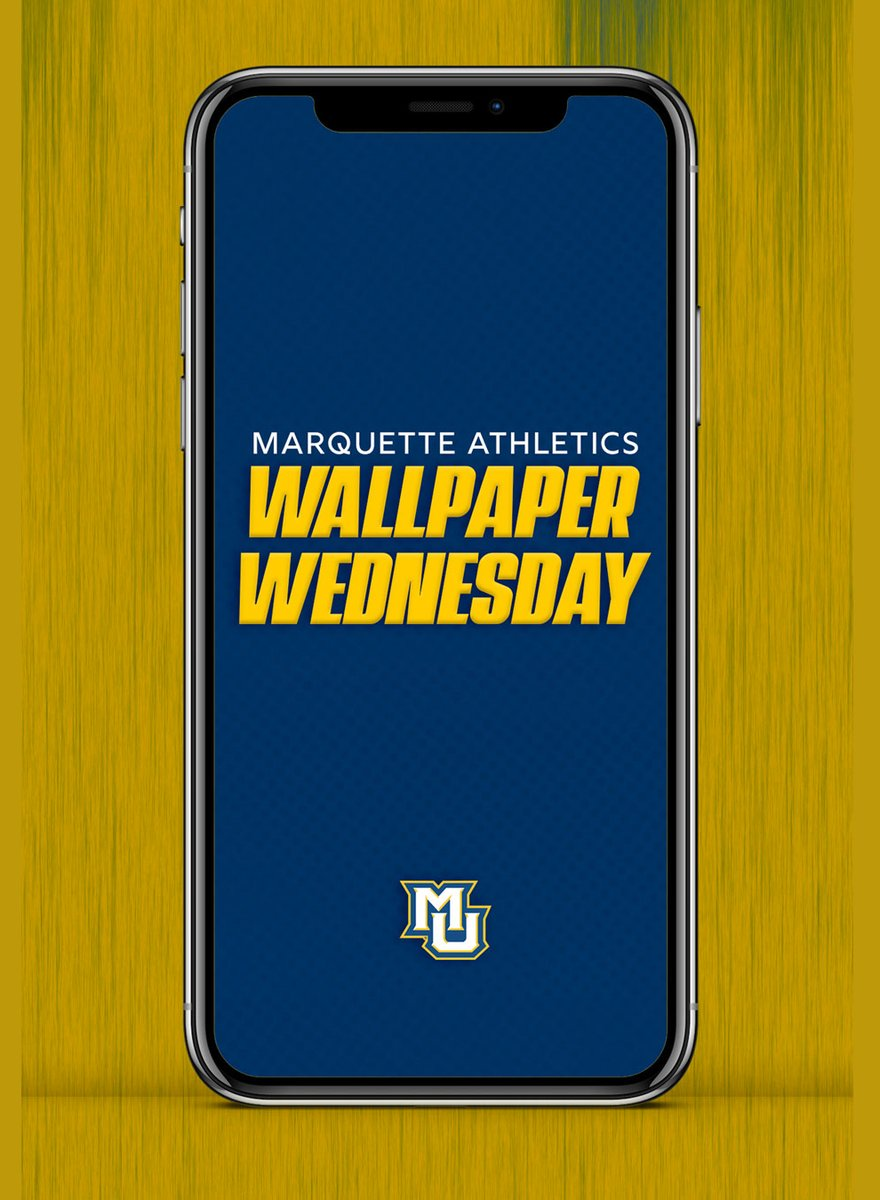 Its that time of the week! We have a new wallpaper coming at ya. #WallpaperWednesday | #WeAreMarquette