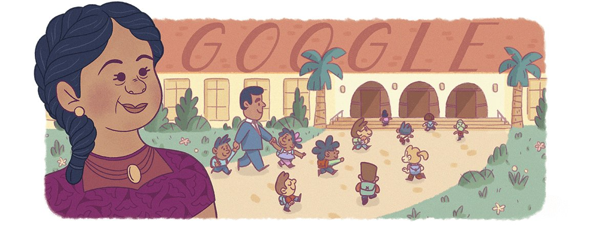 IT'S HISPANIC HERITAGE MONTH!Yesterday, Google celebrated Puerto Rican civil rights activist Felicitas Mendez. Felicitas & husband Gonzalo won the Mendez v. Westminster lawsuit in 1946, the first US federal court ruling against public school segregation https://t.co/8FZhA6QEs8. https://t.co/XFd5V5PSFA