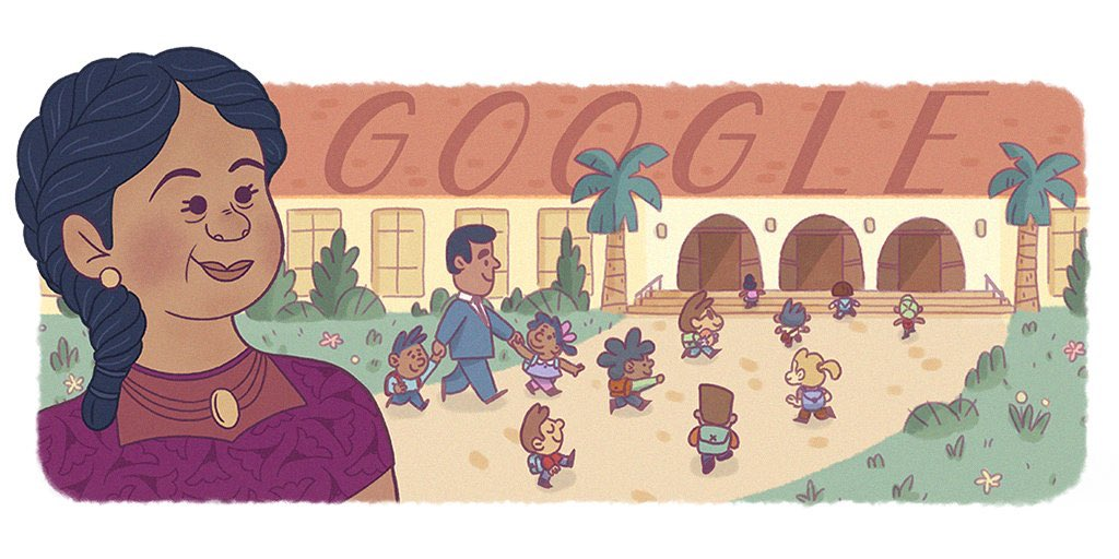 Happy #HispanicHeritageMonth, USA!  Today's #GoogleDoodle honors Puerto Rican civil rights pioneer & business owner Felicitas Mendez, who played an essential role in the first US federal court ruling against segregated schools. https://t.co/q7u7EYWAxn