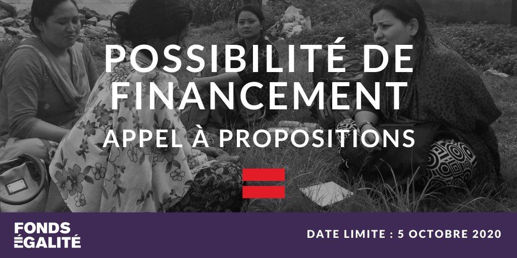 .@Equality_Fund accepte les candidatures pour son programme de subventions. Les organisations de femmes du Moyen-Orient, de l'Asie et du Pacifique, de l'Amérique centrale et du Sud ou de l'Europe de l'Est peuvent soumettre leur candidature avant le 5 oct. https://t.co/7tXVUTYACF https://t.co/Ci5BDD4itA