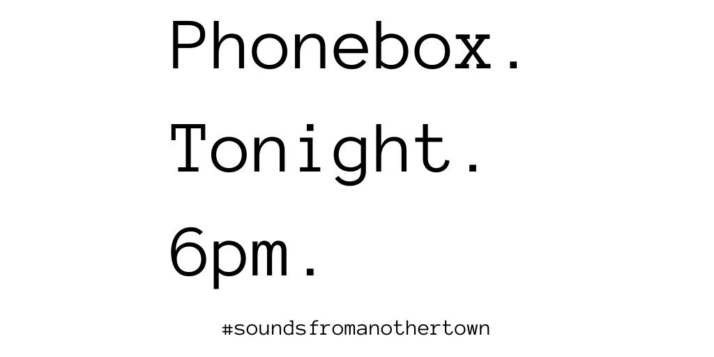 All across Stoke-on-Trent. Tonight. 6pm. #StokeOnTrentCalling #SoundsFromAnotherTown #Care