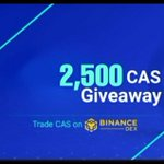 Image for the Tweet beginning: #Giveaway Cashaa will soon offer a