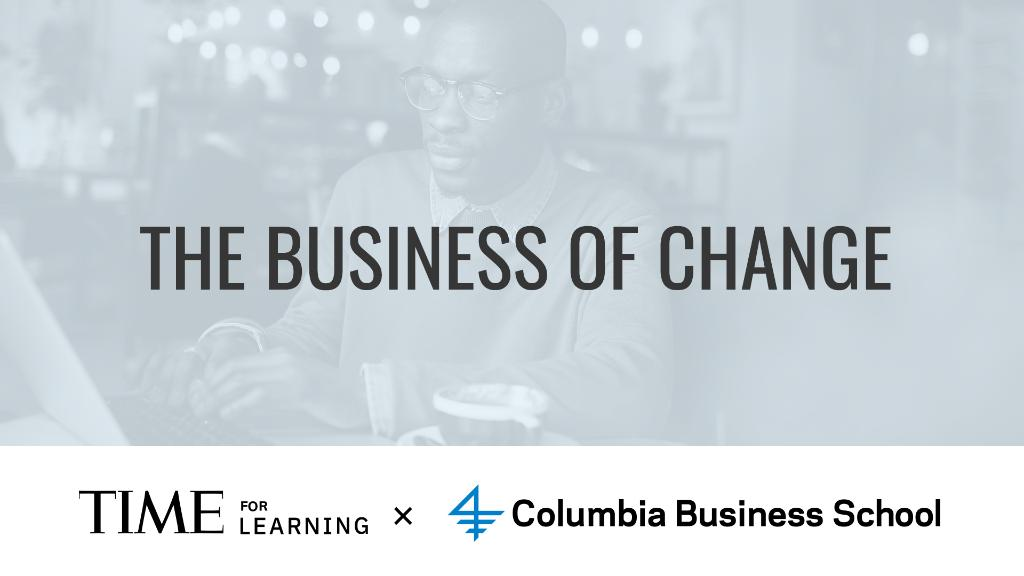 Register now to join TIME for Learning and Columbia Business School this Friday, September 18th at 1:00 p.m. E.T. for a webinar with Rita McGrath focused on business strategy and how to spot inflection points in business before they happen: https://t.co/uQYrSQy7LT https://t.co/IydIblwNJw