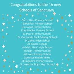 During #GRWeek2020, 14 more schools have been recognised as Schools of Sanctuary in an online celebration event. Well done to school staff&pupils for their hard work and dedication to making their schools inclusive, safe&welcoming places for everyone!  https://t.co/6cBmW7heTY https://t.co/cPzAXGnTwJ