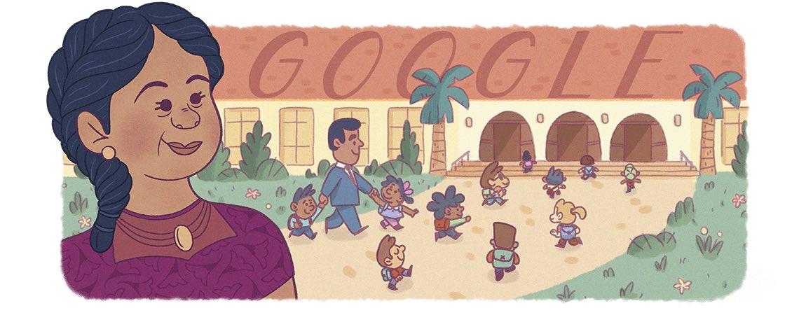 Did you all see this Google doodle yesterday celebrating Felicitas Mendez? Did you know their legal case was the first federal court ruling against public segregation— almost a decade before Brown vs Board of Education? @ConeCougars #HispanicHeritageMonth2020 https://t.co/LbmYb82HKb
