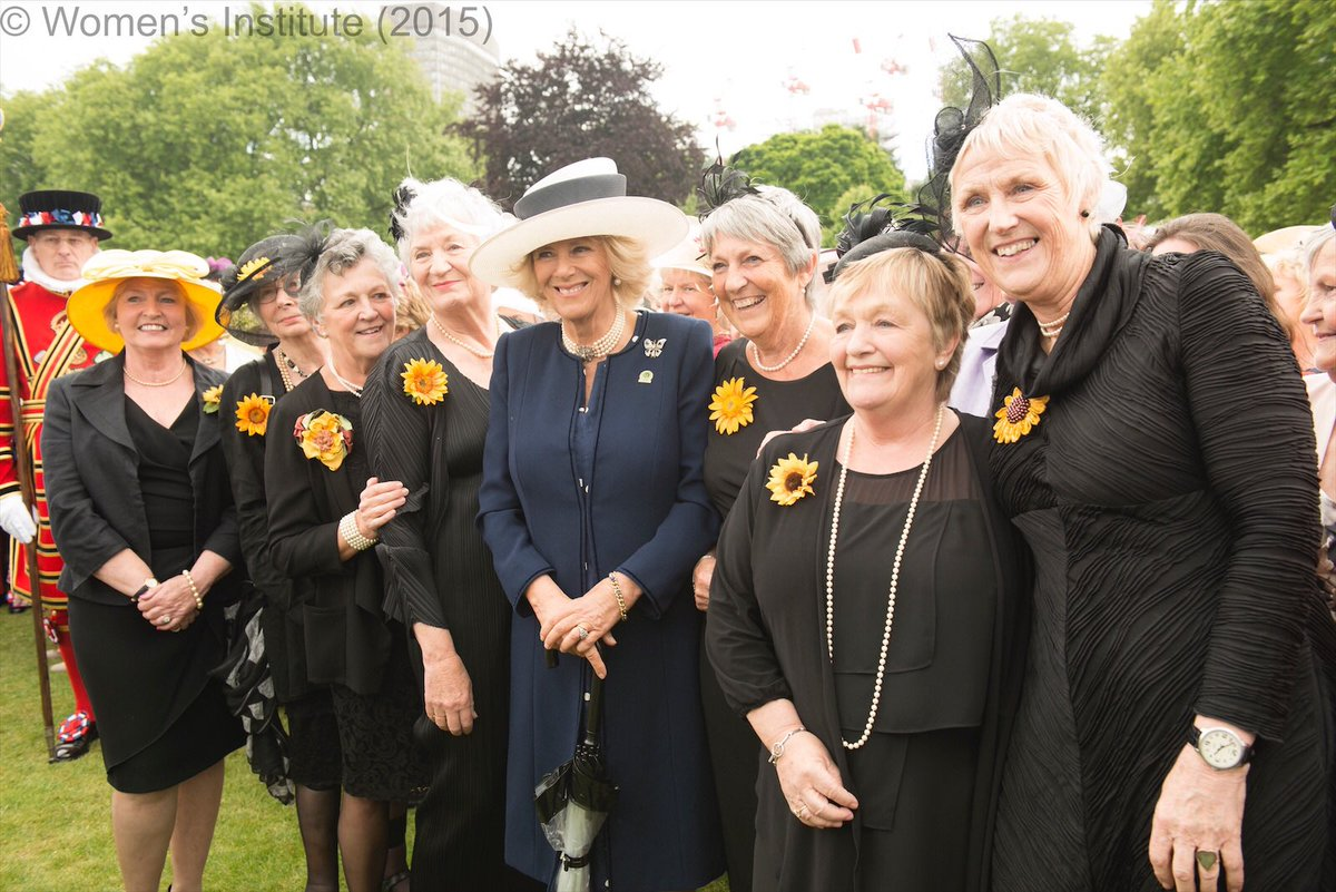 Happy #WIDay! 👩🎉 On this day, 105 years ago, the very first @WomensInstitute meeting took place, giving members an opportunity to give back to the community and campaign on a range of issues. The Duchess is a member of the Tetbury WI and the Llandovery WI.