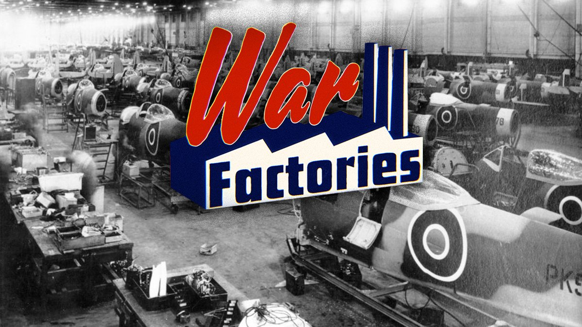 Want to know more about the mass production of firearms and its influence on the modern world - from toasters to cars?   Catch us on War Factories tonight at 8pm on @YesterdayTweets!  #WarFactories @UKTV   https://t.co/7dRuL0itLs https://t.co/vnmBnLQNGh