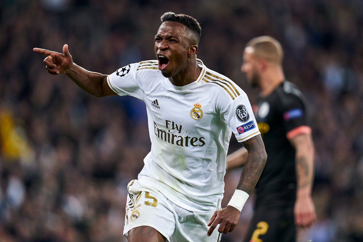 "🗣️ ""At my age, only Casillas and Raul have played more games than me and they're legends here. They won lots of trophies and I hope to be able to do the same.""  • Vinícius Júnior  #UCL https://t.co/EHJ8yeqmJr"