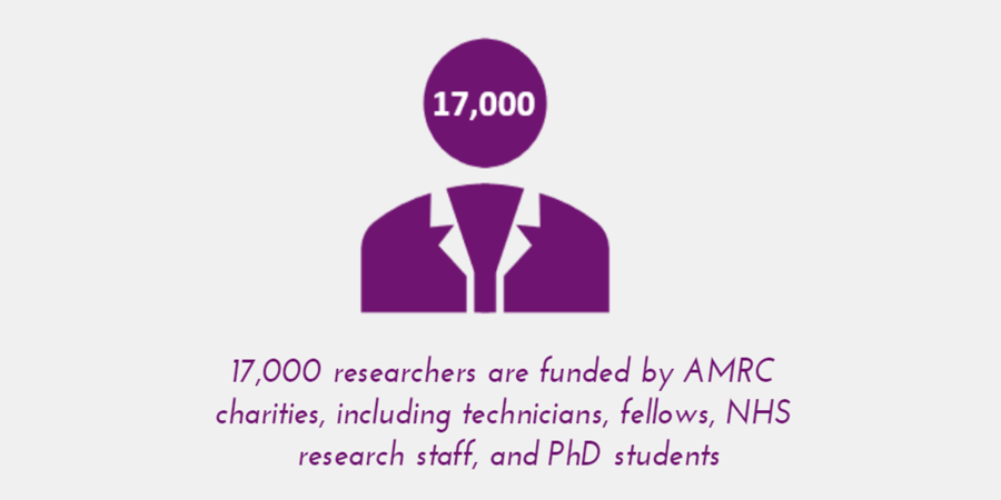 Without AMRC charities, thousands of promising scientists would lose support to kick-start & develop their research careers. Curious to know more what the UK's life sciences sector would miss out on #WithoutCharities? Check out our report here https://t.co/HWBc1Bpn0F https://t.co/XcI9rnyLPT