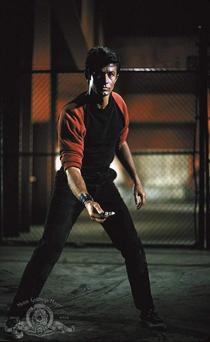 Happy 86th Birthday to George Chakiris! Pictured here in West Side Story (1961)