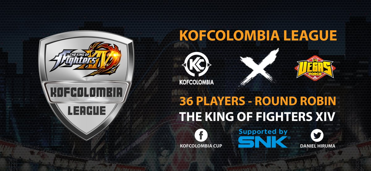 Announcement: We are supporting this online tournament league via our e-sports support program! #SNK #KOFXIV https://t.co/BOAYzkIrdI https://t.co/2KUF6LHvQD