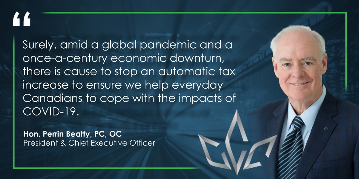 Beer Canada fully supports the @CdnChamberofCom Freeze the Alcohol Tax campaign, which calls on the federal government to stop the alcohol escalator tax.   This will help in the recovery of many different sectors, including brewing, amid the COVID-19 pandemic.