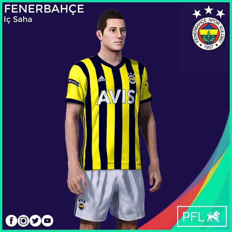 Fenerbahçe 20/21 iç saha formasının beyaz şort ve çorap güncellemesi eklendi. Ayrıca kaleci forması da eklendi. Sitemizden indirebilirsiniz.  #eFootballPES2021 #eFootballPES2020 #pes2021 #pes2020 #pes2019 #pes2018 #fenerbahçe #fenerbahçeforma #adidas #fb #pesturkey #pesturkish https://t.co/yqjNrCL1z3