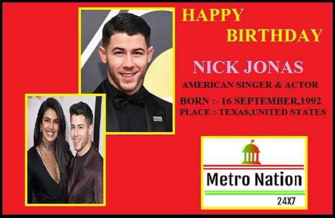 Hi... WE WISH YOU A VERY HAPPY BIRTHDAY..  NICK JONAS...