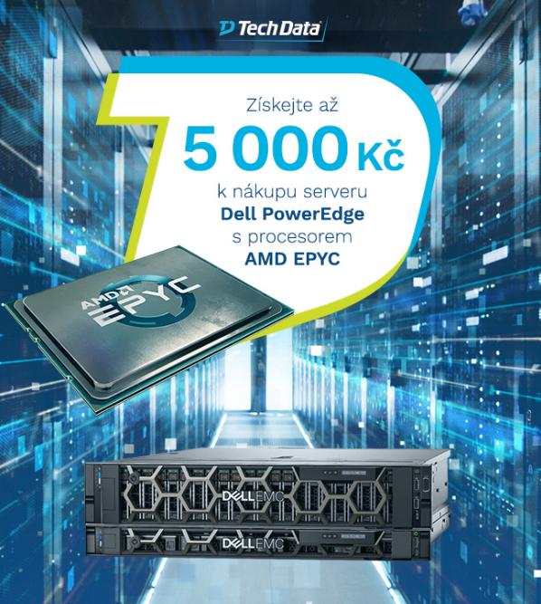 Tech Data vám nabízí jedinečnou příležitost získat až 5 000 Kč k nákupu serveru #Dell PowerEdge s procesorem #AMD EPYC! Jak na to? Klikněte zde: https://t.co/iG2eQ4m2Xl  #TDTransforms https://t.co/BvolHePaEO
