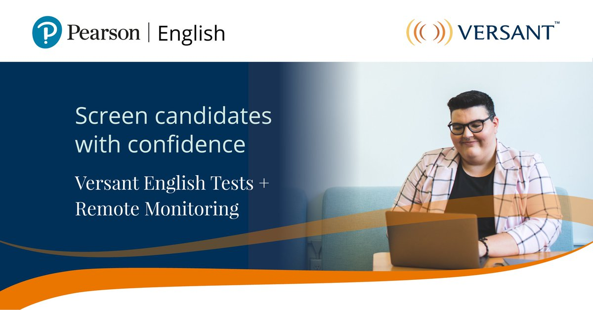 There are no shortcuts with Versant. Screen your job applicants' English skills with confidence.  https://t.co/f1D17NWuuJ  #VersantTests #Versant #EnglishTest #RemoteMonitoring https://t.co/Fl6WsOT8i3