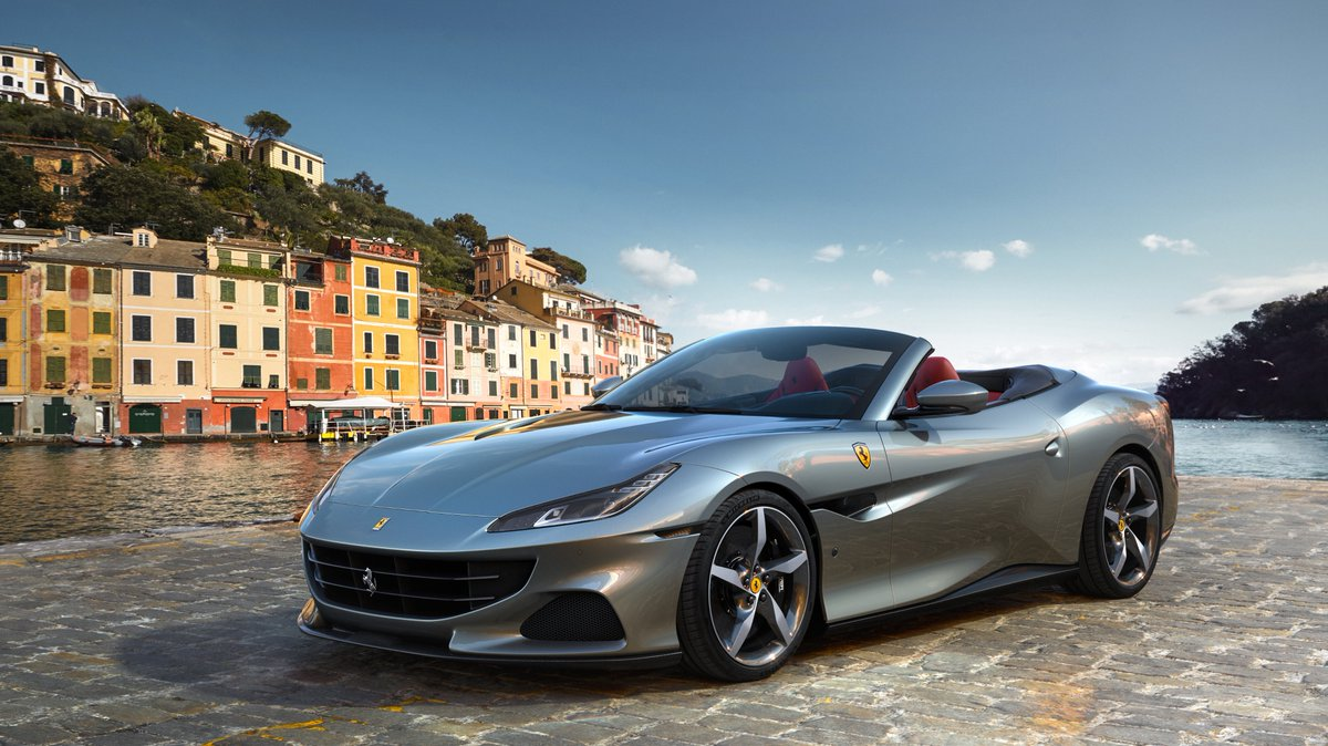 A voyage of rediscovery: the #FerrariPortofinoM joins the #Ferrari family. The 'M' in its moniker stands for 'Modificata', as a nod to the model's progressions in performance and versatility - making it the perfect evolution of the #FerrariPortofino. https://t.co/aYws3tH8LN https://t.co/OIlNQCxSfR