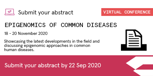 🚨ALERT! Abstracts now due for #Epigenomics2020 Just 1 week left! D/L: 22 Sept - https://t.co/jkGQbxq5OV We have a stellar agenda of expert speakers, and YOU could be selected to join them to present your #epigenomic insights.    We welcome submissions for talks and e-posters. https://t.co/xr31vcOeTx