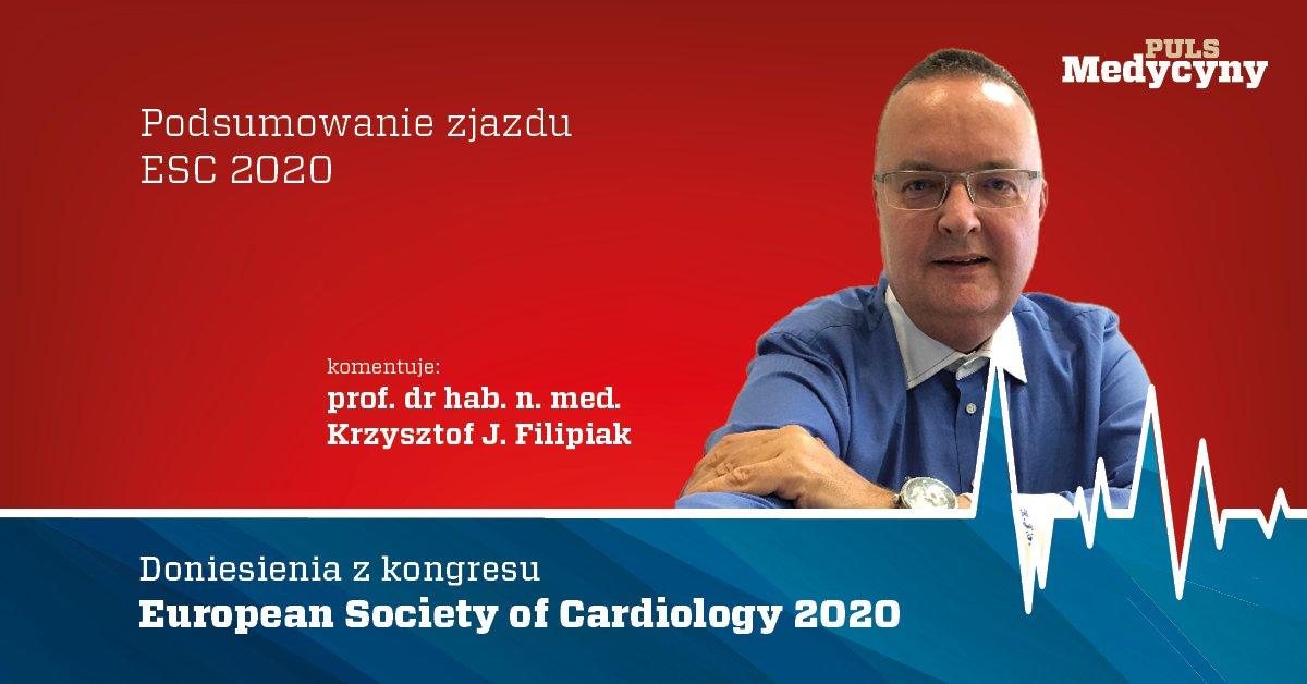 W rozmowie z @ewa_kurzynska prof. Krzysztof Filipiak podsumowuje kongres #ESC2020 @rzecznik_wum  https://t.co/oUMQ9I6bKQ https://t.co/00LTnBmD7Y
