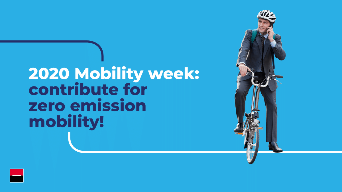 Today is the start of the European #mobilityweek! Zero-emission transport will play a critical role in protecting our #environment today and tomorrow for everyone. We're committed to doing our part to transition towards a carbon-neutral and inclusive urban environment. https://t.co/iGoIe5Uphu