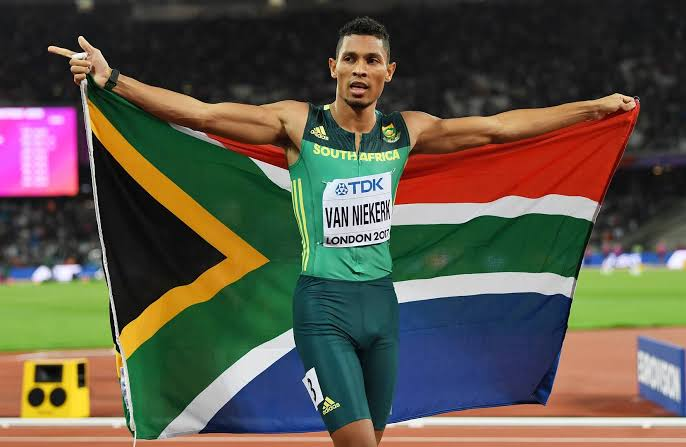 Congratulations to my boy a patriot Wayde Van Niekerk ,by winning the 400m event at the Gala Die Castelli  in Switzerland yestaday https://t.co/Vm3Vnuz5Uw