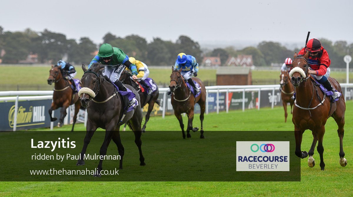 Lazyitis and @PMulrennan win the second race at @Beverley_Races for @JCamachoRacing an owners Morecool Racing!
