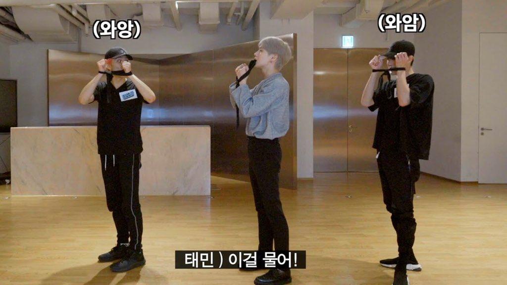 [VIDEO] 200916 Taemin 'Criminal' Dance Tutorial with #MARK & #JENO #NCT #NCTDREAM youtu.be/DEOe_AgSU84