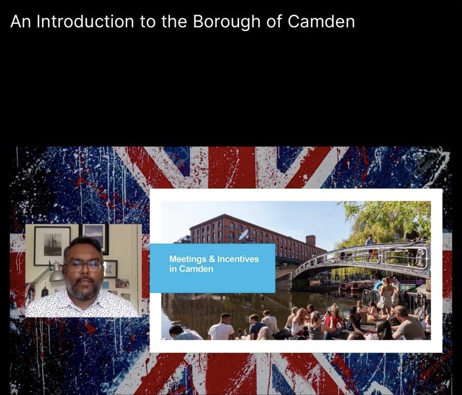 "We thoroughly enjoyed teaming up with @PrincipalLondon yesterday for ""Camden Beyond the Market"", highlighting the borough as a tech, medical and creative hub, and of course amazing for events 🌟 https://t.co/jP6bpPvAbr"