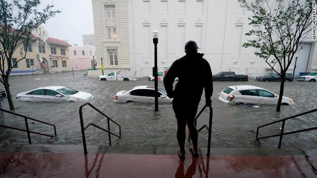 """Sally weakens into a Category 1 hurricane, but """"life-threatening flooding"""" is still likely along the Gulf Coast, the National Hurricane Center says. Follow live updates: https://t.co/akwXAqzuPk https://t.co/HNiYa5vgUY"""