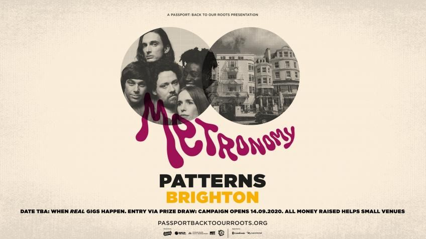 .@metronomy are going back to their roots in 2021 visiting @PatternsBTN as part of the @passportgigs series! Pledge just £5 & you could win entry for you and a +1 to the show, date TBA. Enter via @crowdfunderuk now 👉 https://t.co/L0jRGMb1jR #saveourvenues #backtoourroots https://t.co/a4VgSbQTqC