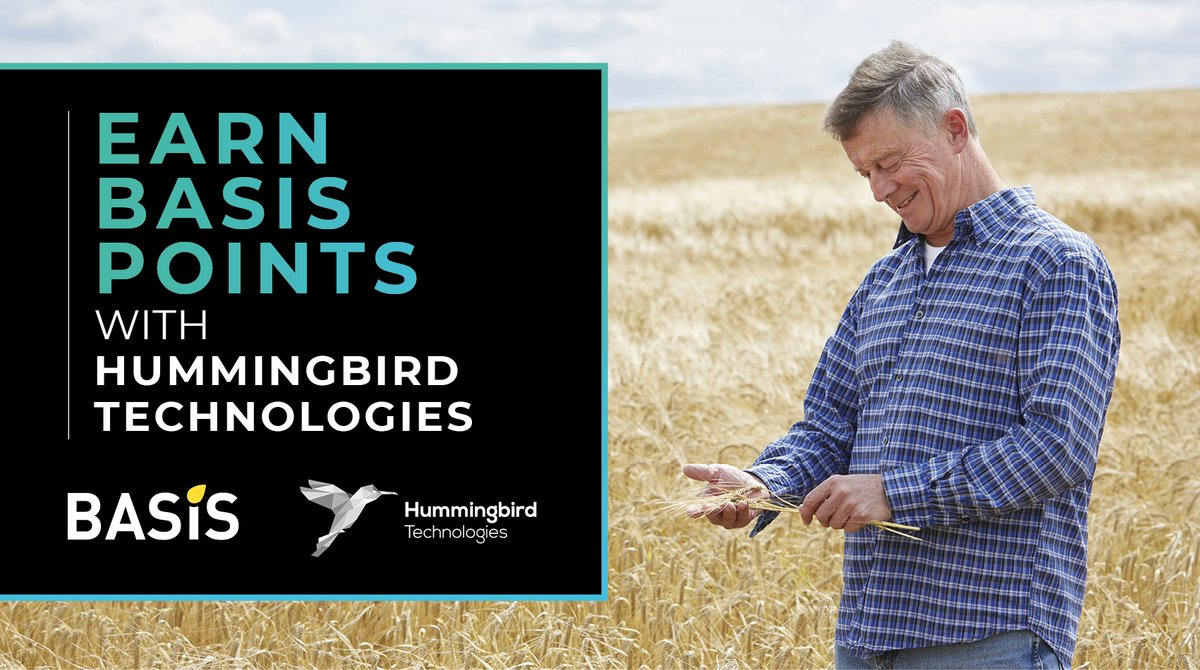 Coming soon! BASIS-approved events with Hummingbird Technologies!  This is a great opportunity for fellow agronomists, farmers and agricultural executives to earn their annual BASIS points, hosted by our own agronomist at Hummingbird, Andrew Paines.   #basis #agronomy https://t.co/uwp4YNDMNf