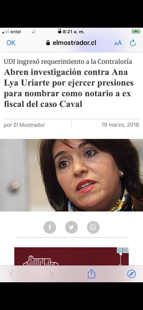 Al parecer , Ana Lya Uriarte estaba involucrada en hechos turbios. https://t.co/1HCq4Pz9v4