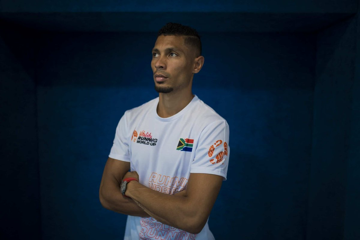 Wayde van Niekerk makes winning return to race track https://t.co/17ZIWeuiwE https://t.co/9qgGdaB5ie
