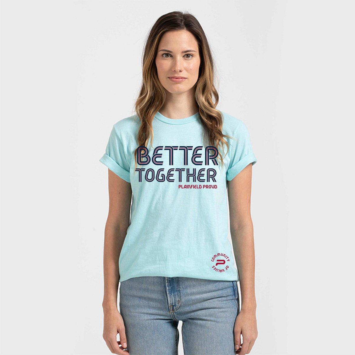 @TownPlainfield shows unity with 'Plainfield Proud' t-shirt sales.  Article with t-shirt link: https://t.co/rtHorbYWlN  #PlainfieldProud #PlainfieldIN #ALLinHendricksCounty https://t.co/rsbdCkJFCk