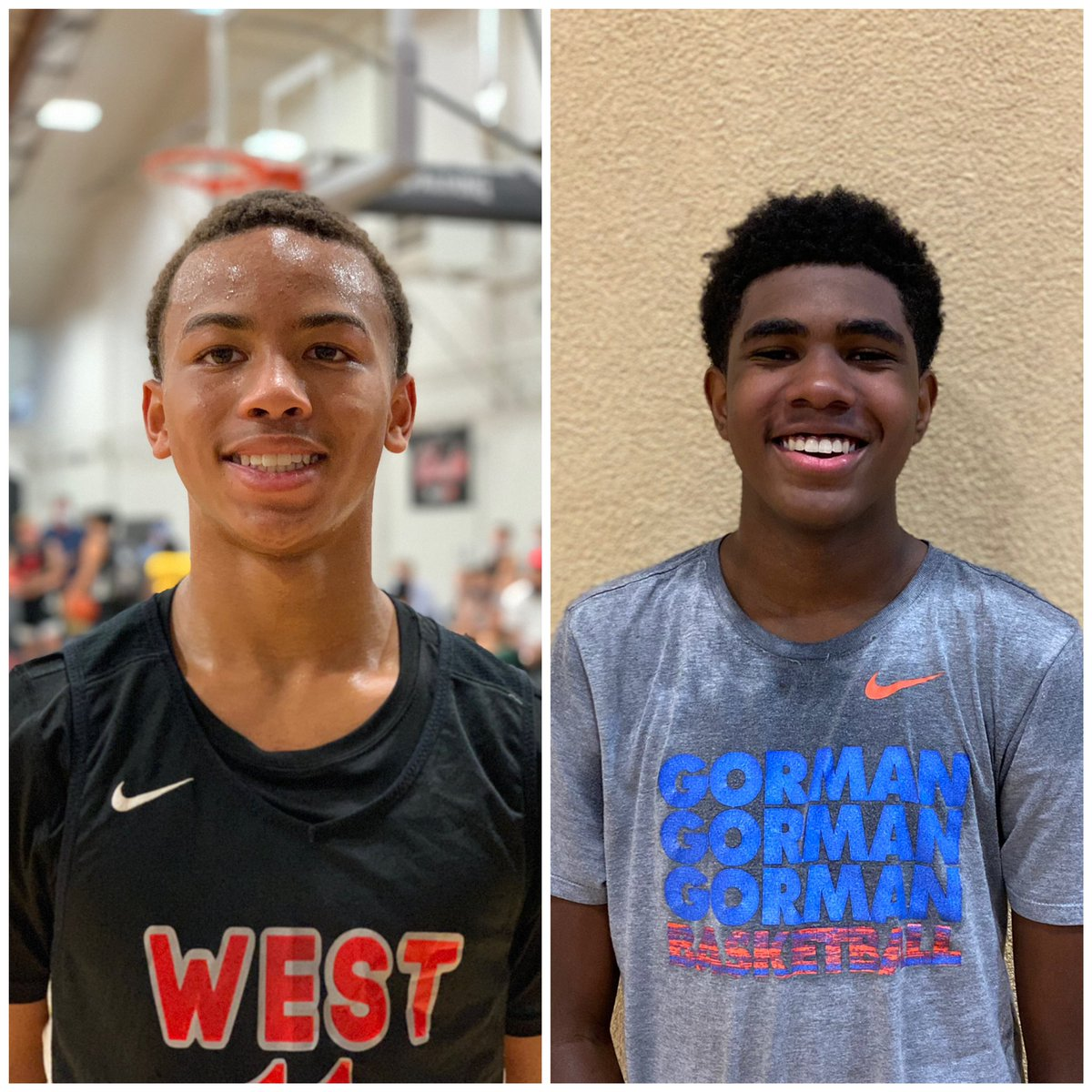 Primary takeaway from this quick trip to Vegas: the top tier of this local 2024 HS class is SPECIAL.   Both Dedan Thomas, Jr. and Jase Richardson are future PROS and it's going to be a fun four years watching them continue to develop at Liberty and Gorman, respectively. https://t.co/LzpT7P1IXC