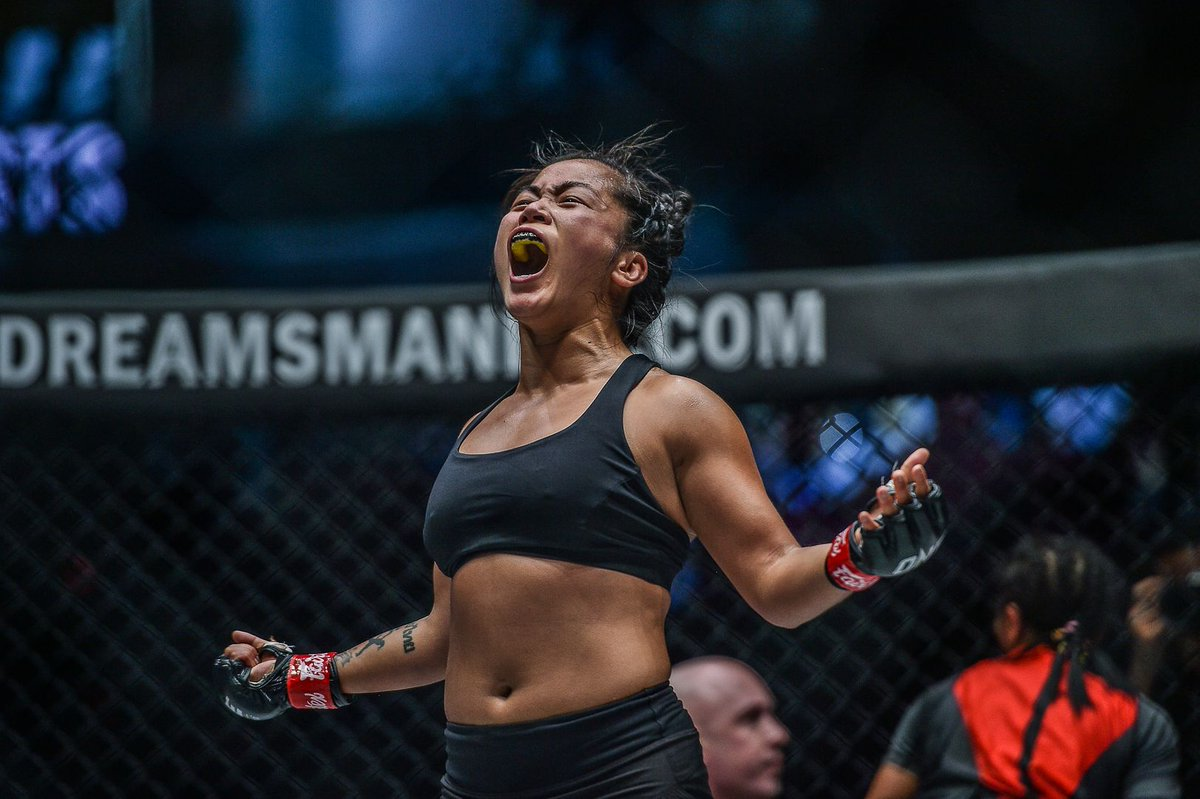 "This week's #WCW is the TENACIOUS Bi Nguyen! Who should ""Killer Bee"" face next? 🐝 @killerbeemma #WeAreONE #ONEChampionship https://t.co/CMUY4CtcHB"