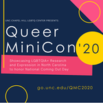 Image for the Tweet beginning: #QueerMiniCon2020 honors National Coming Out