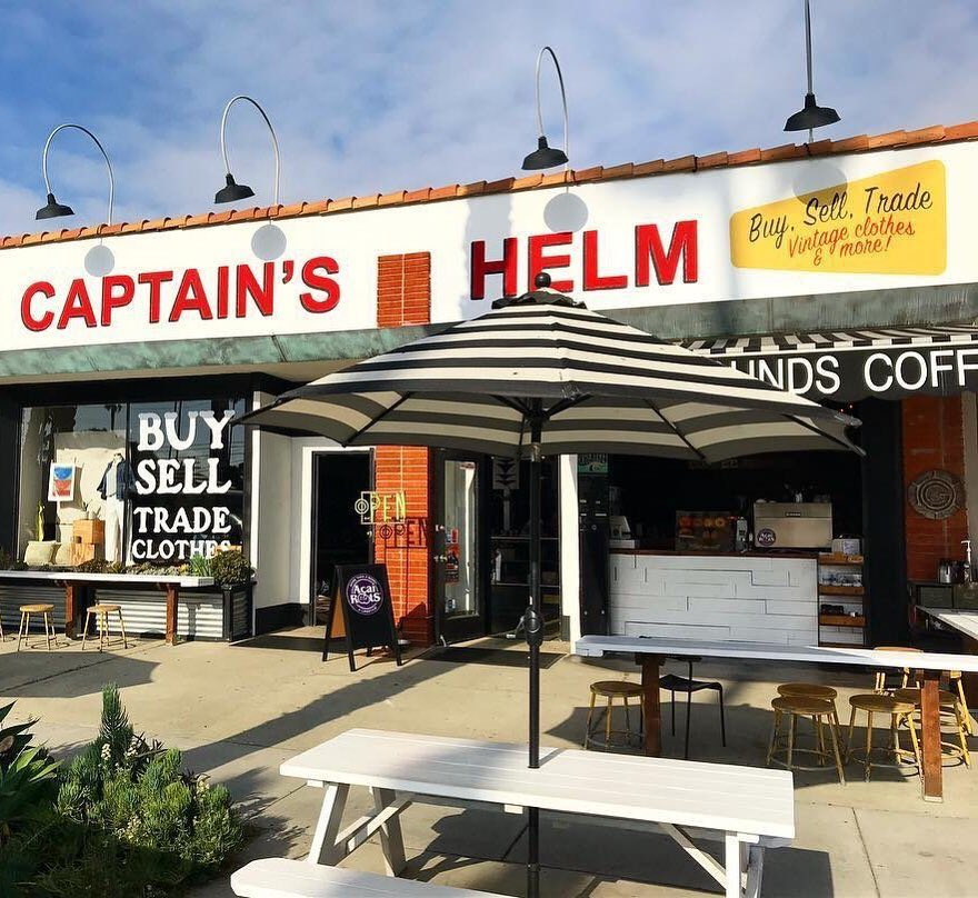 Looking for a little retail fun during your stay in O'side?🛍️ Shop unique vintage finds at Captain's Helm! Don't forget to grab a fresh coffee from Captain's Grounds Coffee while you're over there! (Yes, they have pumpkin spice. 😉🍂)  - Repost from Captain's Helm https://t.co/uXEkWogFyS