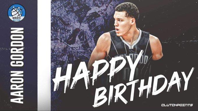 Join Magic Nation in wishing Aaron Gordon a happy 25th birthday!
