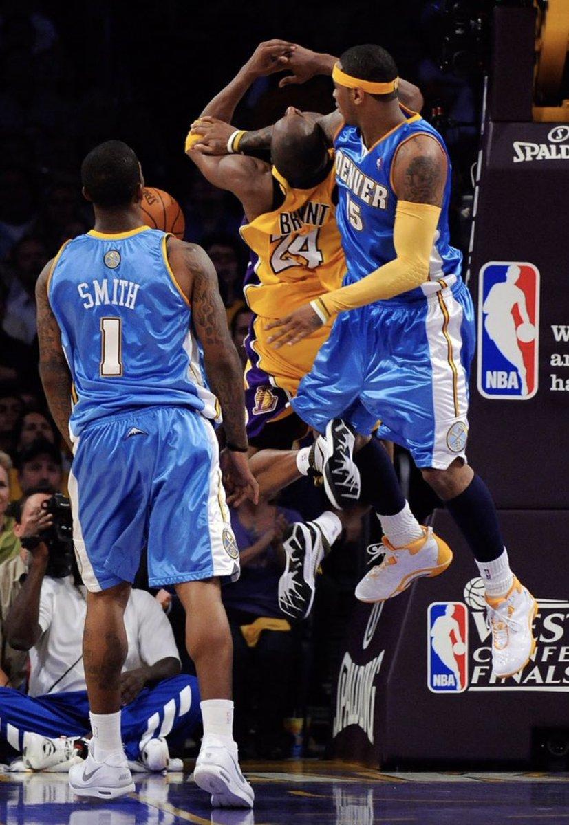 Kobe and Melo '09 WCF Battles. ♾