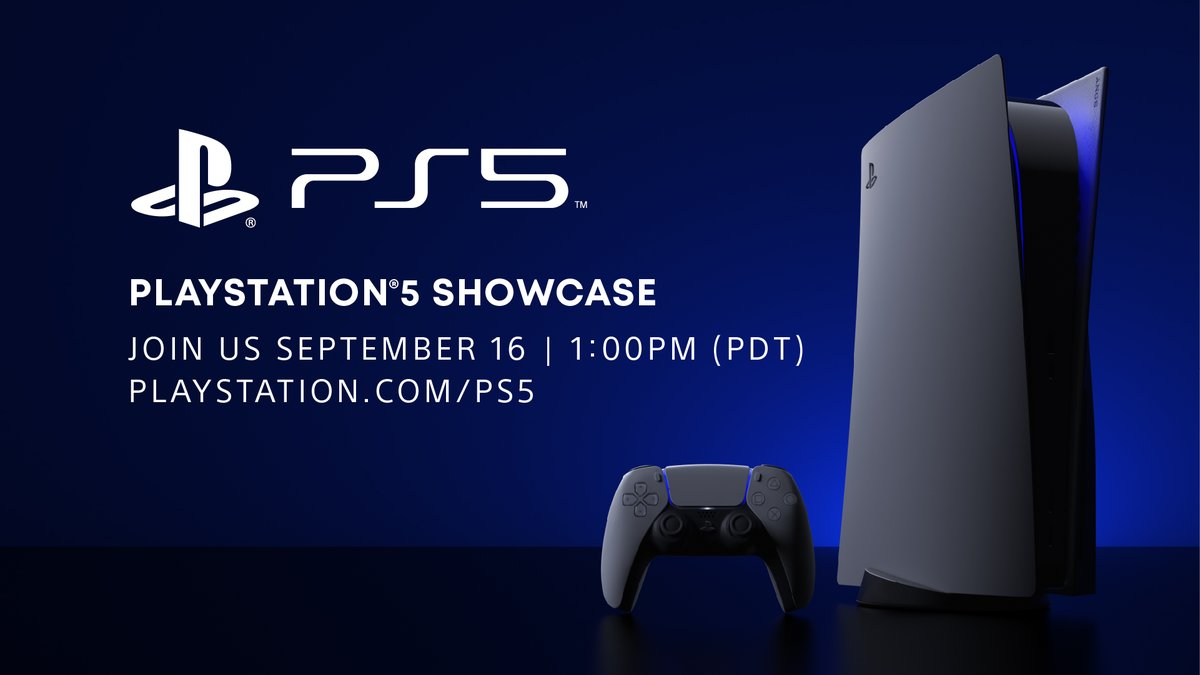See you at 1:00pm Pacific Time today for the PlayStation 5 Showcase: play.st/3bSk95D