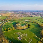 Image for the Tweet beginning: Old Sarum is the site